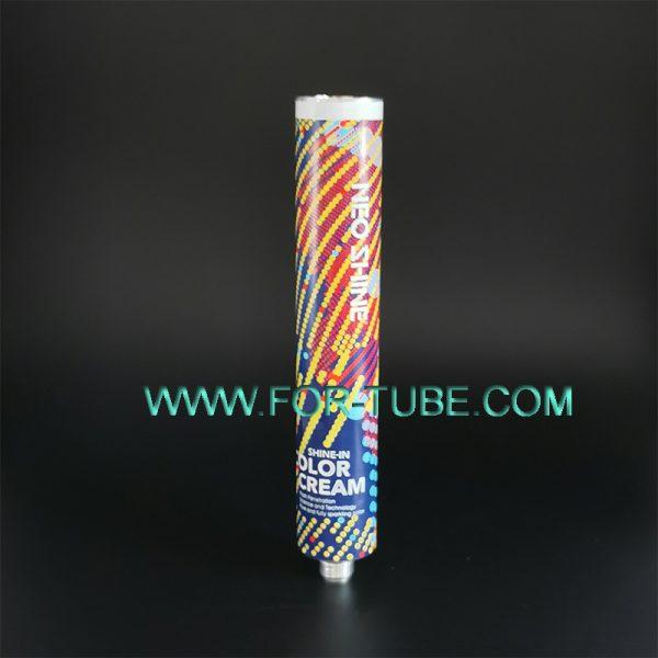 Aluminium hair dye tube
